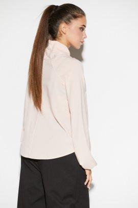 Блуза с декорированым отворотом