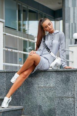 Сукня-худі