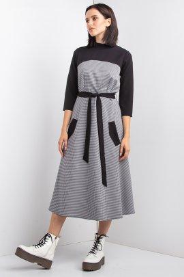 Комбінована сукня для офісу