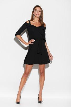 Сукня міні з відкритими плечами