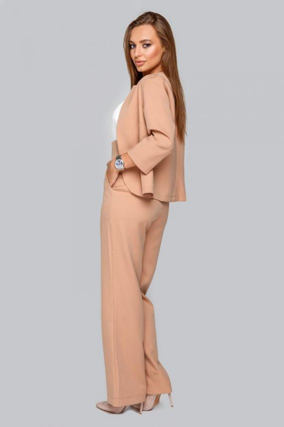 Комплект трійка (брюки, жакет, майка)