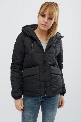 Коротка куртка на силіконі