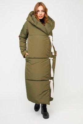 Довге пальто ковдра
