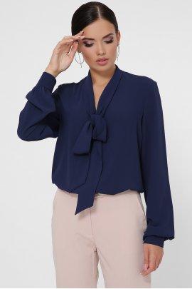 Блуза з краваткою-бант