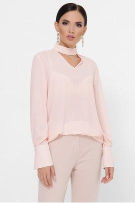 Блуза з воротом-чокер