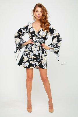 Вкорочене плаття-кімоно
