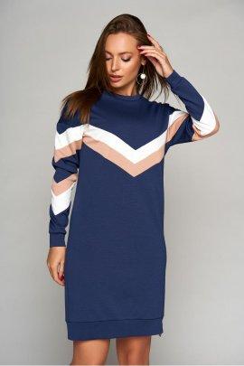 Сукня-спорт з смугами