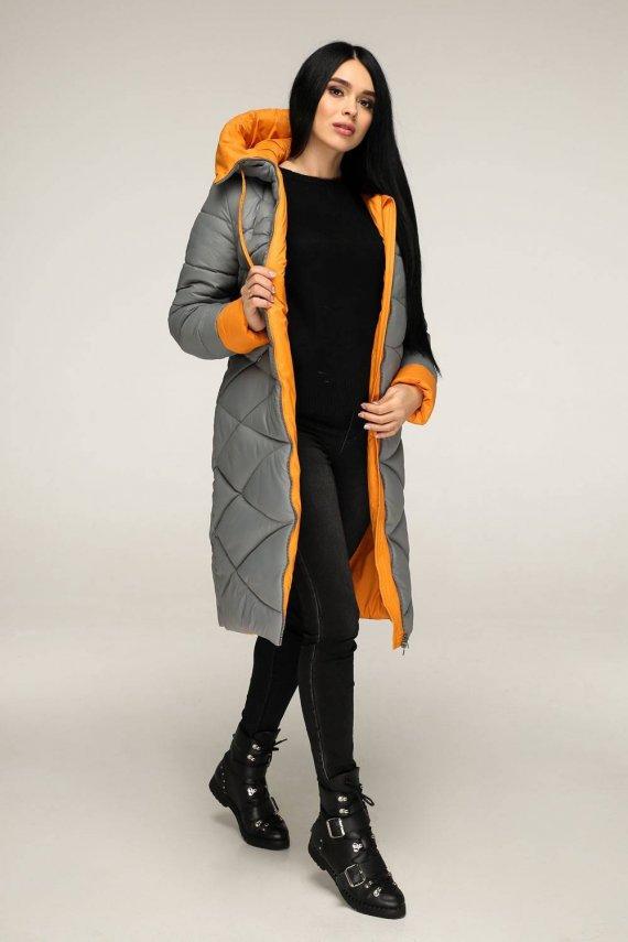 Куртка-пуховик глянець
