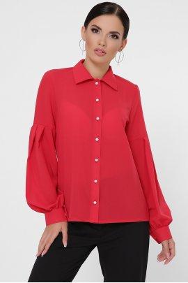 Блуза з рукавами-ліхтариками