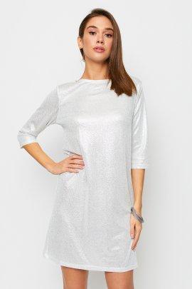 Коктейльное платье с блеском