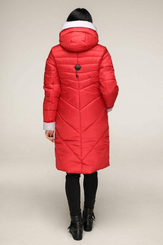 Куртка-пуховик матовий