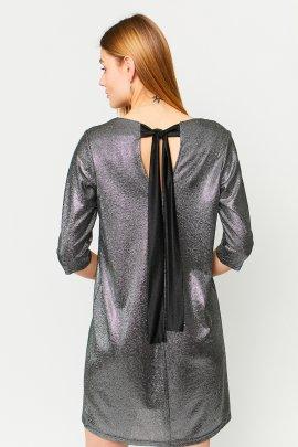 Коктейльна сукня трапеція з блиском