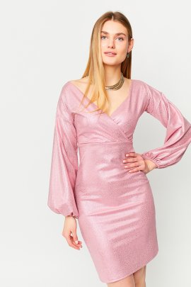 Коктейльна сукня з блиском