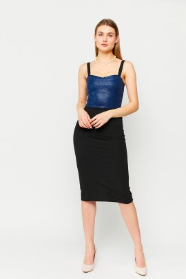 Коктейльна сукня на бретелях