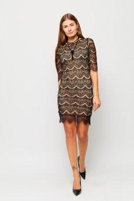 Коктейльна сукня з тонкого мережива