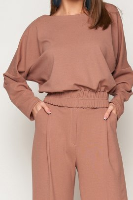 Блуза-боді з замша