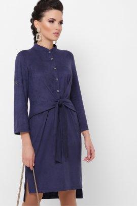 Сукня з замшу