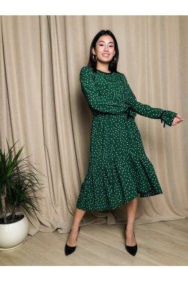 Очаровательное платье с принтом
