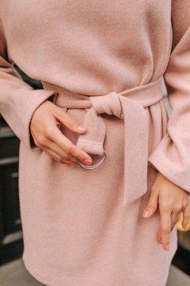 Сукня-туніка в рубчик