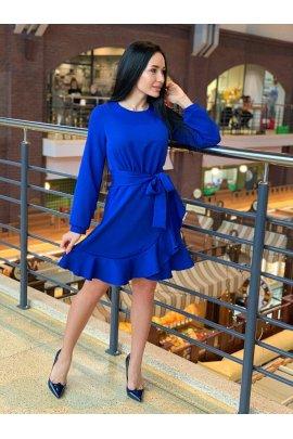 Кокетлива сукня з рюшею