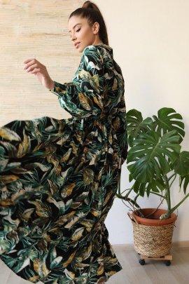 Гарна сукня з льону