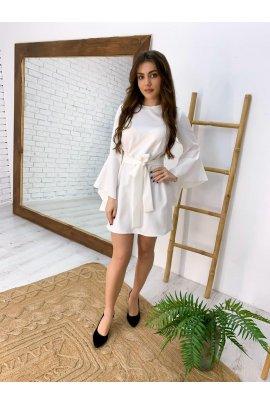 Сукня з повітряними рукавами