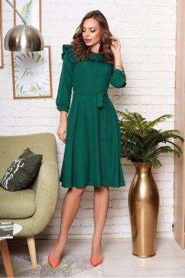 Романтична сукня з рюшами