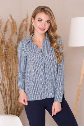 Блуза з V-образним вирізом