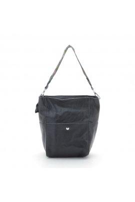 Шкіряна сумка + косметичка