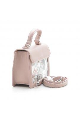 Романтична сумка з принтом