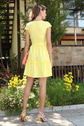 Сукня-міні з рюшами