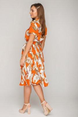 Сукня з спідницею плісе