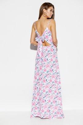 Платье с бантом на спинке