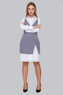 Костюм: рубашка+сарафан