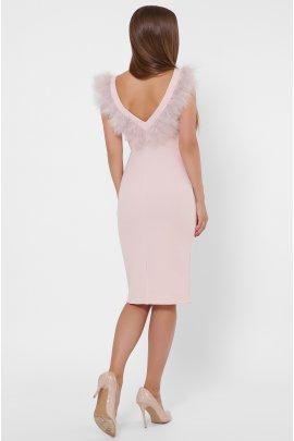 Сукня-максі з воланами