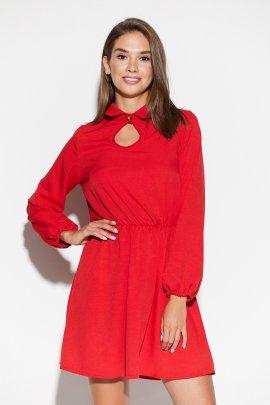 Сукня-міні з вирізом краплинка