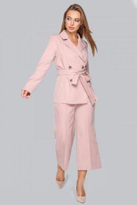 Костюм: блуза и брюки-кюлоты