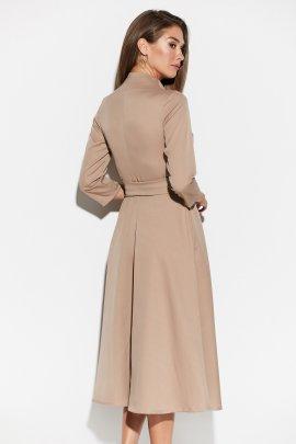Стильное платье миди на запах