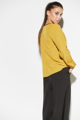 Легка блуза в горох