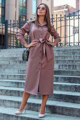 Сукня-рубашка на пуговках
