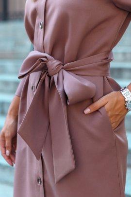 Сукня-піджак на запах
